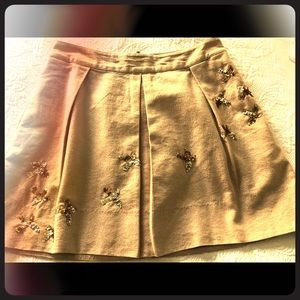 Dresses & Skirts - Sparkle-y unique mini skirt.  Anthropologie.